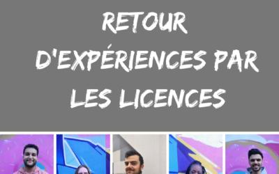 Alternance : Retour d'expériences par les Licences