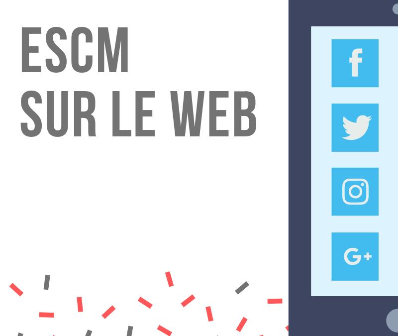 ESCM sur les réseaux sociaux