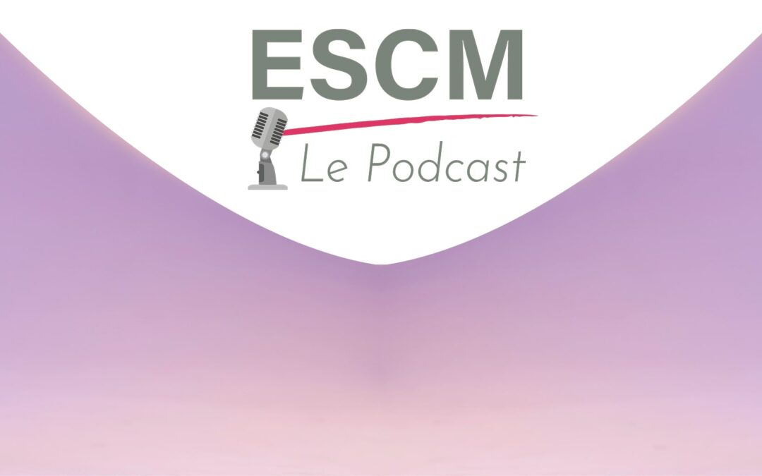 Podcast ecole de commerce ESCM logo